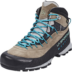 La Sportiva TX4 GTX Mid Chaussures Femme, taupe/emerald